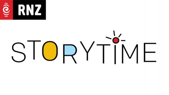 Radio New Zealand and Storytime logos