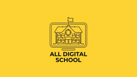 All Digital School logo