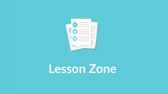 Lesson zone logo