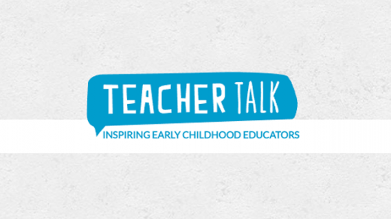 Teacher Talk logo: inspiring early childhood educators