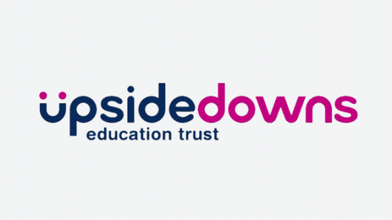 Upside downs education trust logo